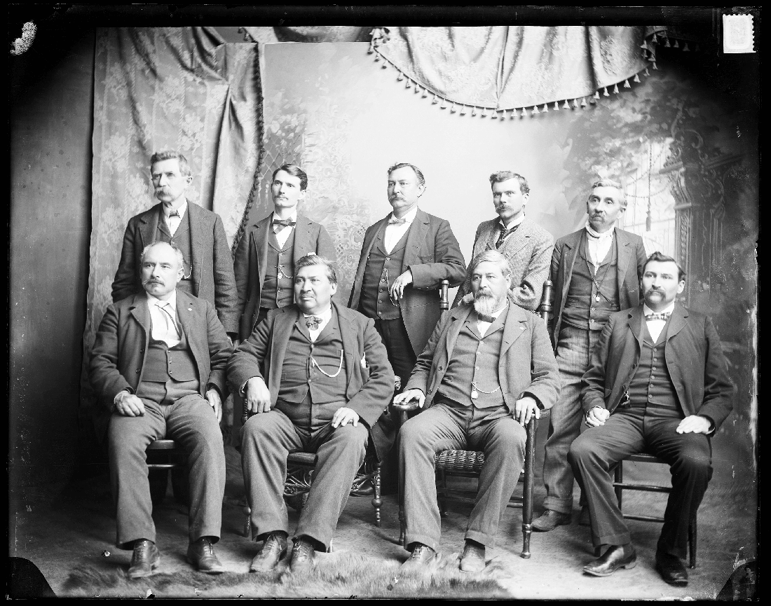 Cherokee Delegation to the Dawes Commission